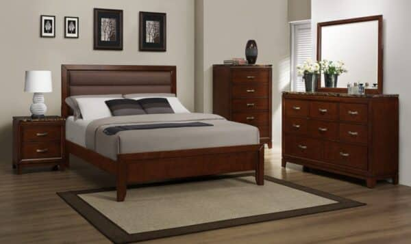 Cherry Finish Bed