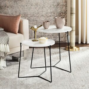 Lacquer Stacking End-Table