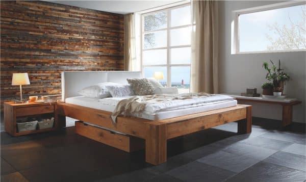 Rustic Designer's Bed