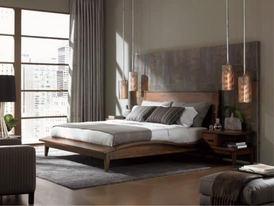 Pure Wood Bed