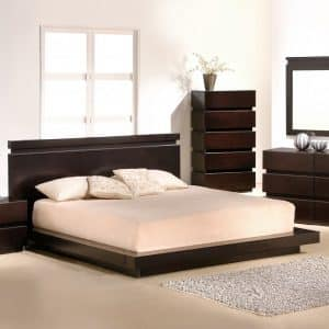 High Gloss Bedroom Set