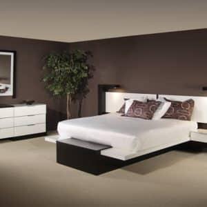 Modern Queen Bed
