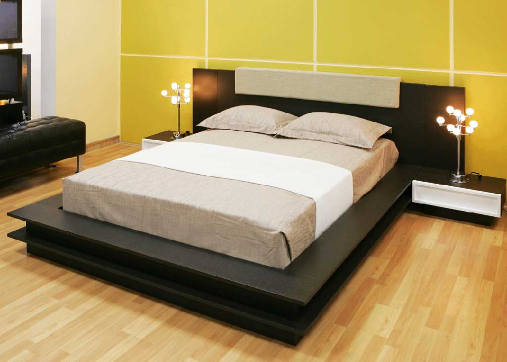 Picture of: Modern Low Profile Bedset Tarkhan Pk
