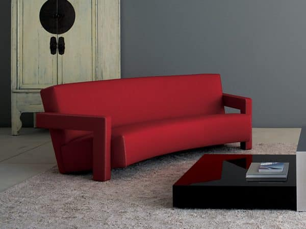 Three Seater Curved Sofa