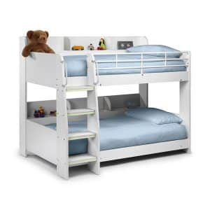DOMINO KIDS BUNK BED WITH SHELF