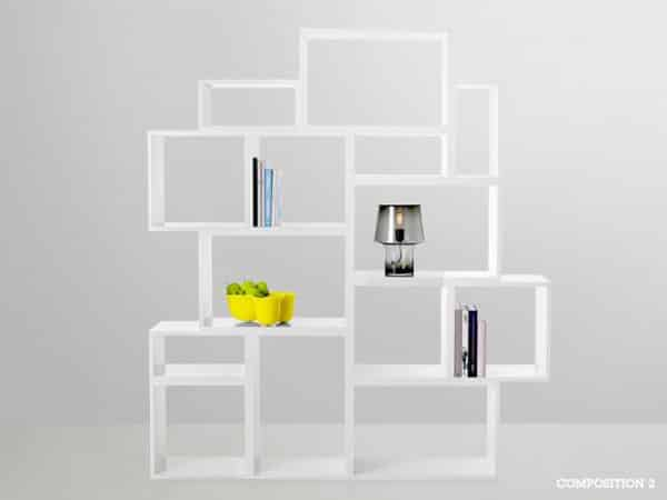 Stacked Shelving