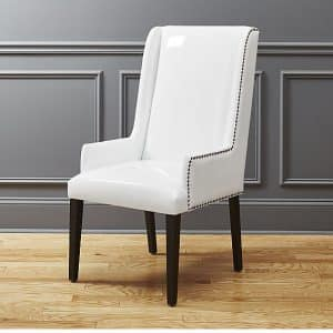 Striking Wingback Leather chair