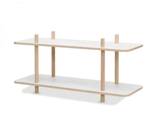 2 Shelves System Table
