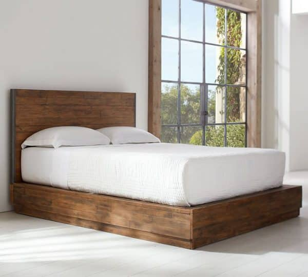 Big Daddy's Antique Wooden Bed