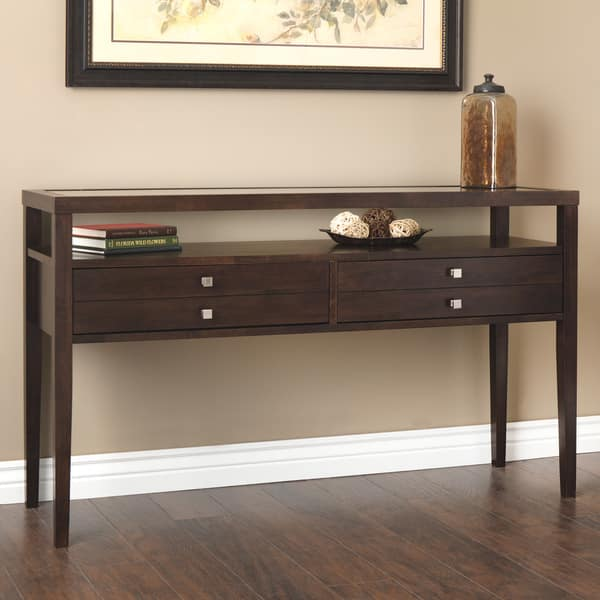 Artisto Brown Console Table