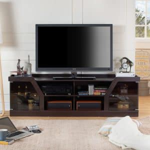 Contemporary Espresso TV Stand