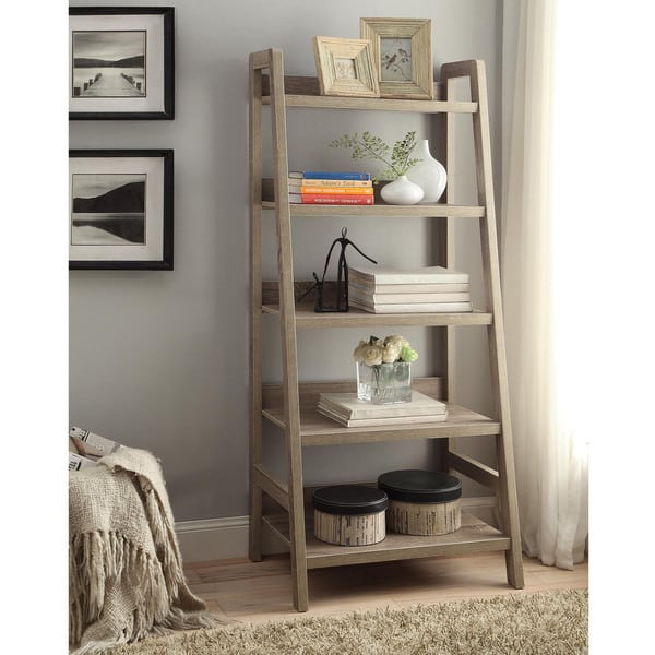 Pitchfork Ladder Bookcase