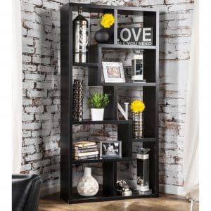 Contoured Leveled Display Cabinet