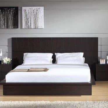 wooden bedset