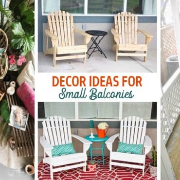 decor ideas for small balconies