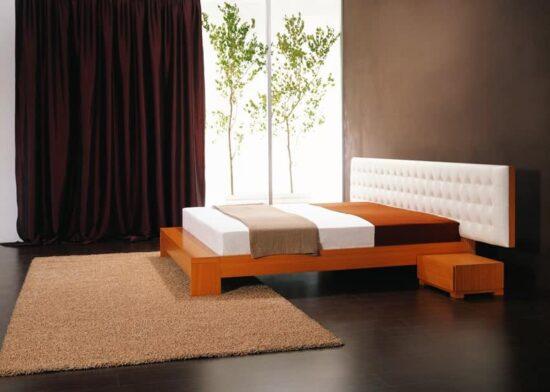 Upholstered Winger Bed