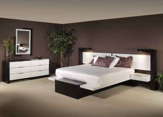 Modren Queen Bed